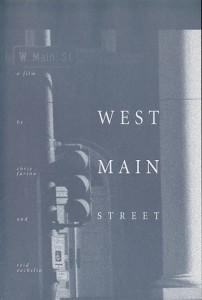 Film Poster, West Main Street